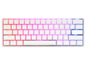 Ducky One 2 Mini Pure White - RGB LED 60% Double Shot PBT Mechanical Keyboard