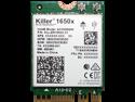 Killer Wireless AX1650 Module – Dual Band, 2x2 Wi-Fi 6/11AX, Bluetooth 5.0, M.2/NGFF (Gig+)