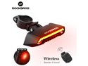 Bicycle Light  LED USB Rechargeable TailLight Warning Bike Rear Lights  Smart Wireless Remote Control Turn Signal Light