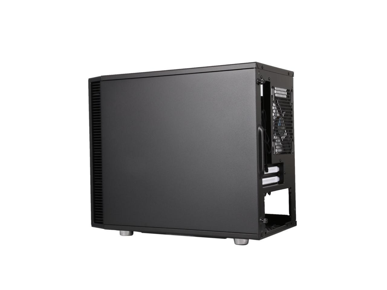 Fractal Design Define Nano S Black Window Silent Mini Itx Mini Tower Computer Case Newegg Com