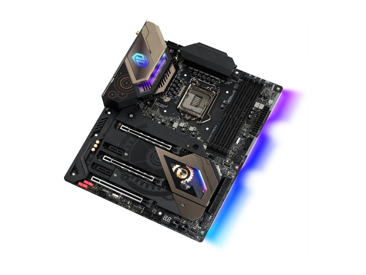 ASRock Z490 Taichi LGA 1200 ATX Intel Motherboard - Newegg.com