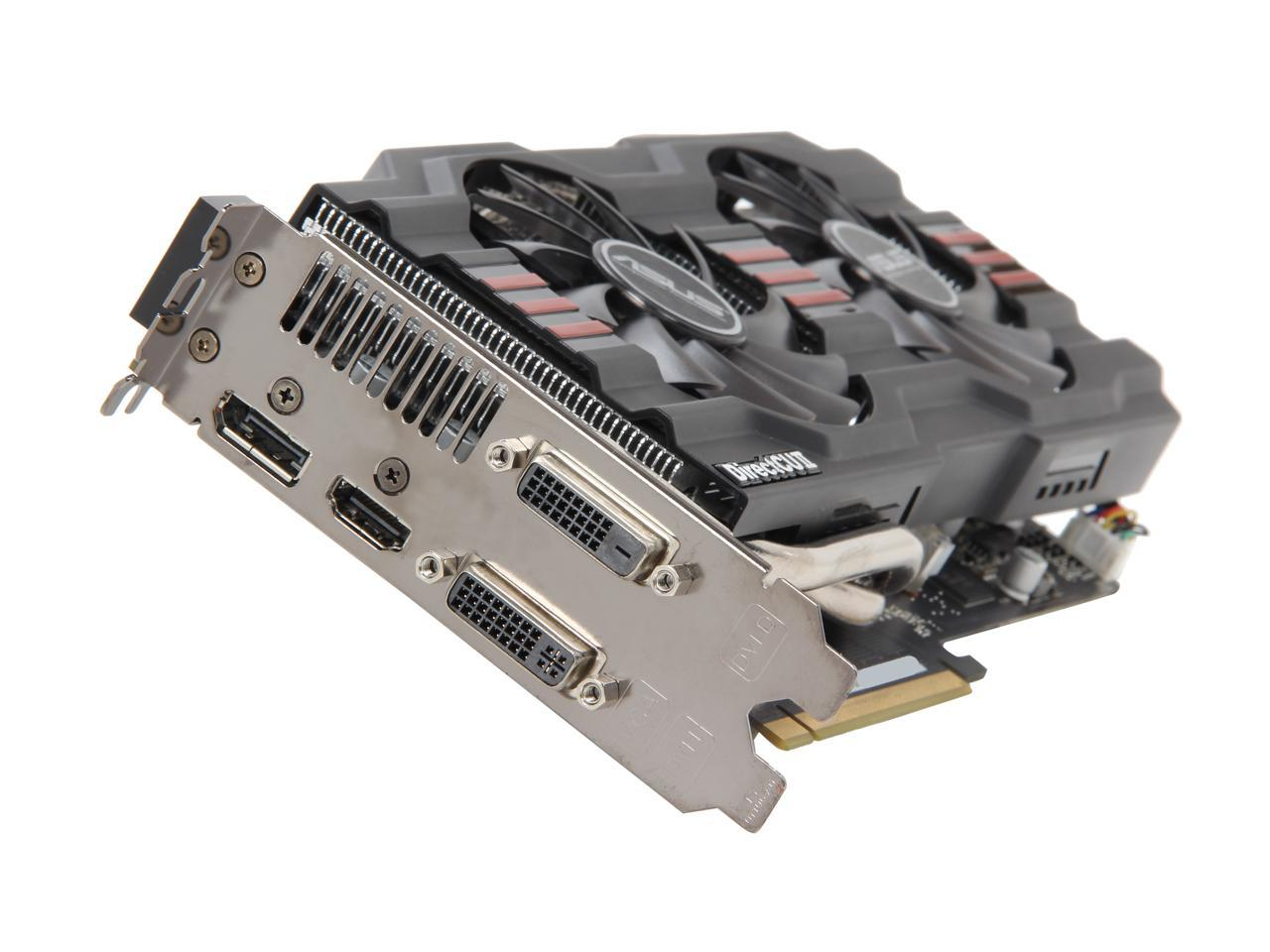 Asus Radeon Hd 7870 Ghz Edition Directx 11 Hd7870 Dc2 2gd5 V2 Video Card Newegg Com