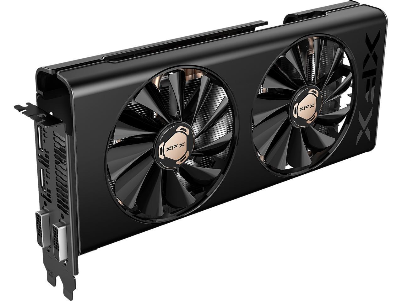 Xfx Radeon Rx 580 Directx 12 Rx 580p8rfd6 Video Card Newegg Com