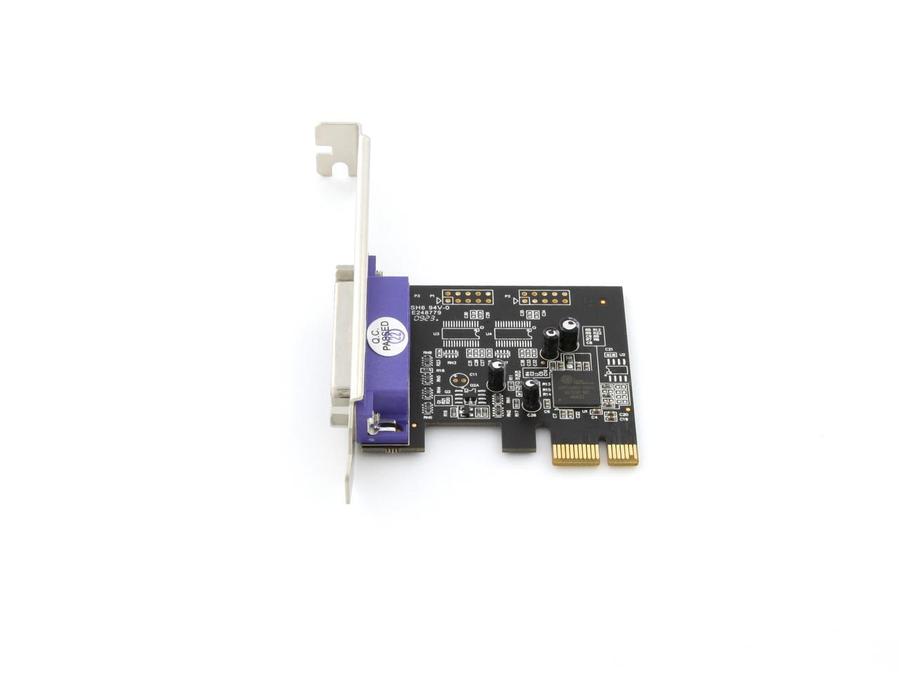 STARTECH 2-port serial 1-port parallel pci card PCI2S1P