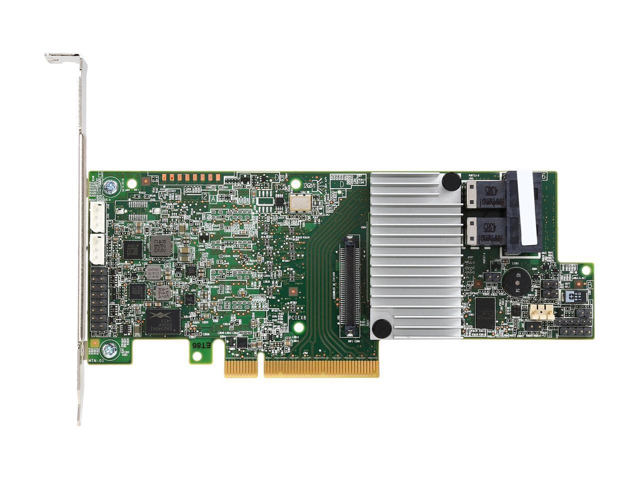 In Card Pci Express 3.0 X8 Intel Raid Controller Rs3sc008 12Gb//S Sas 1 Raid Supported 10 8 Sas Port Product Type: I//O /& Storage Controllers//Scsi//Raid Controllers 5 50 6 Raid Level Plug S 60