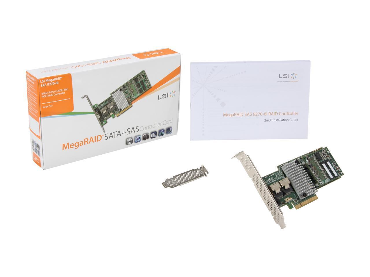*NEW* Low Profile Bracket for LSI MegaRAID SAS 9270-8i