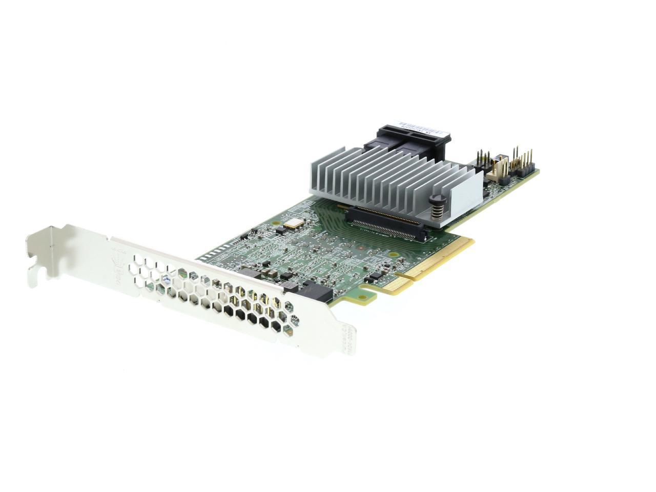 Single LSI MegaRAID SAS 9361-8i 8-Port 12Gb//s SATA+SAS PCI-Express 3.0 Low Profile RAID Controller Renewed
