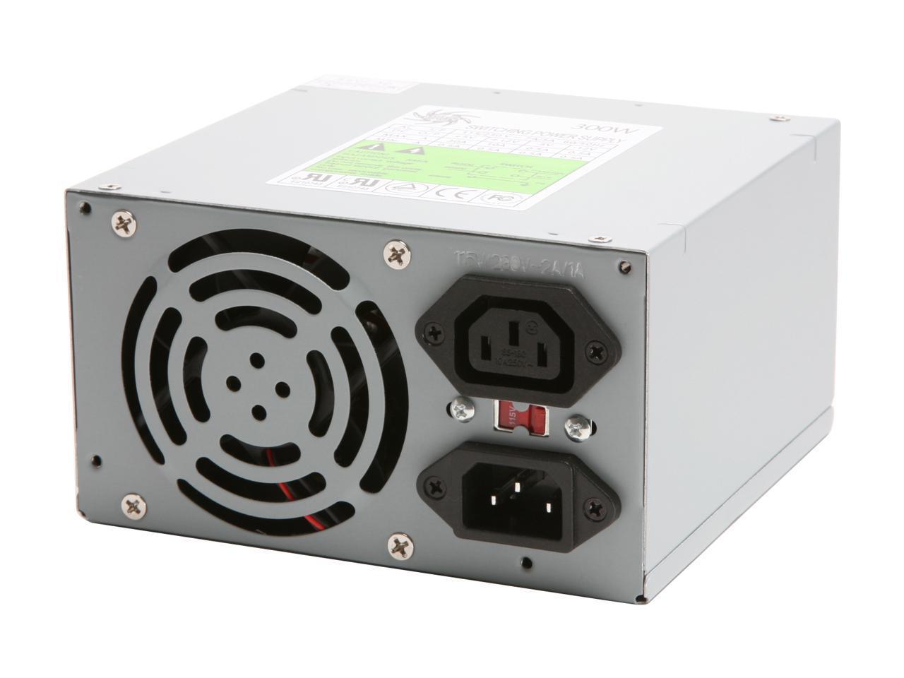 ATHENA AP-AT30 300W AT POWER SUPPLY Athena Computer Power AP-AT30 300W AT Power Supply Walmart.com