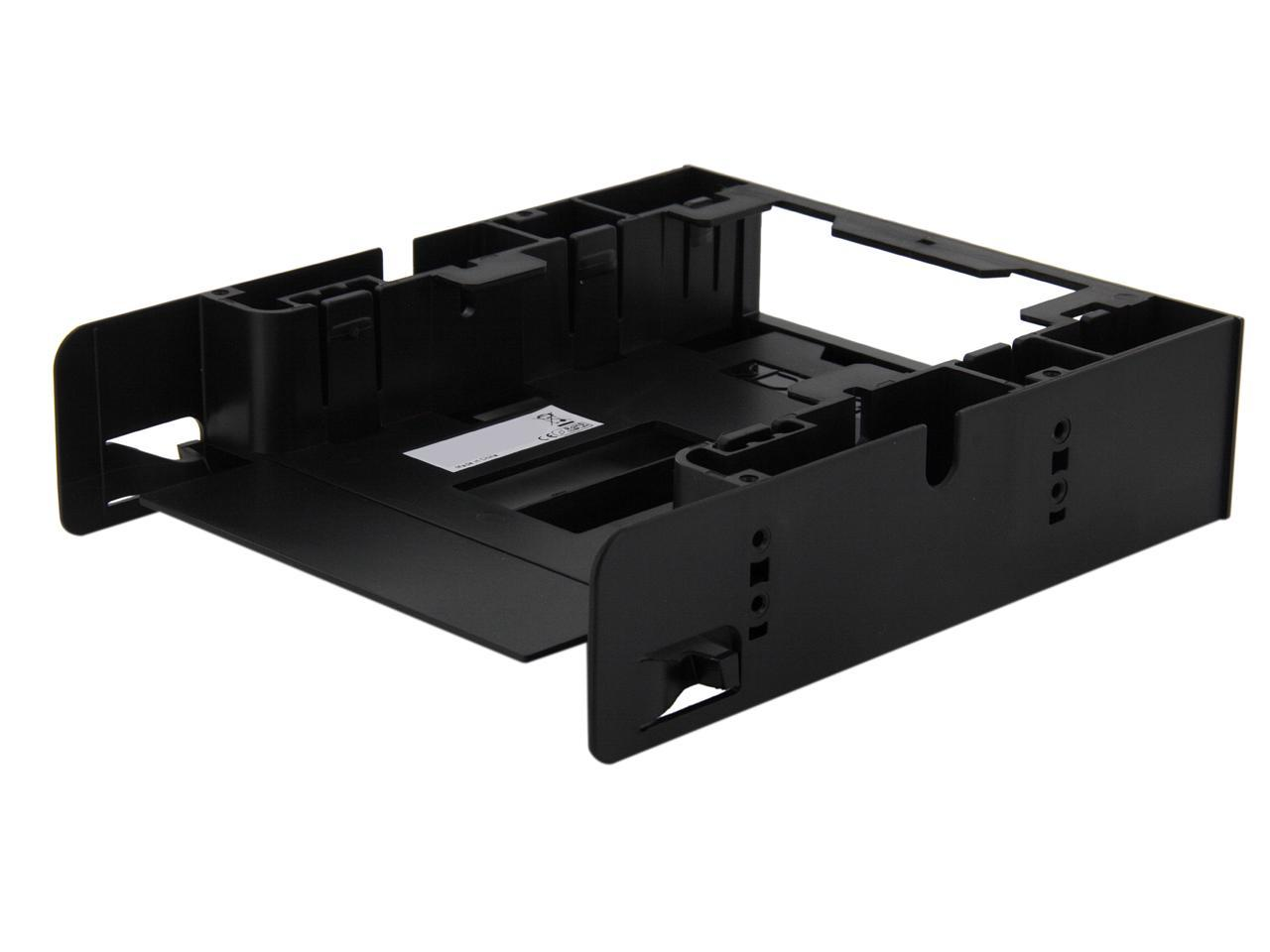 Flex-FIT Trio MB343SP ICY DOCK Dual 2.5 SSD 1 x 3.5 HDD Device Bay to 5.25 Drive Bay Converter//Mounting//Kit//Adapter