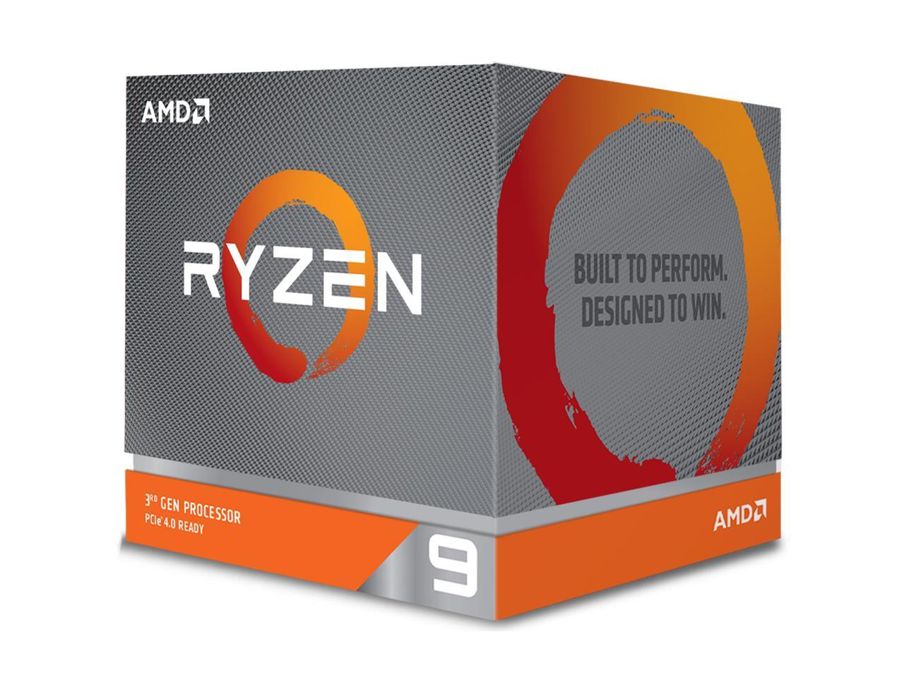 AMD Ryzen 9 3900X 12-Core 3.8GHz Socket AM4 Desktop Processor