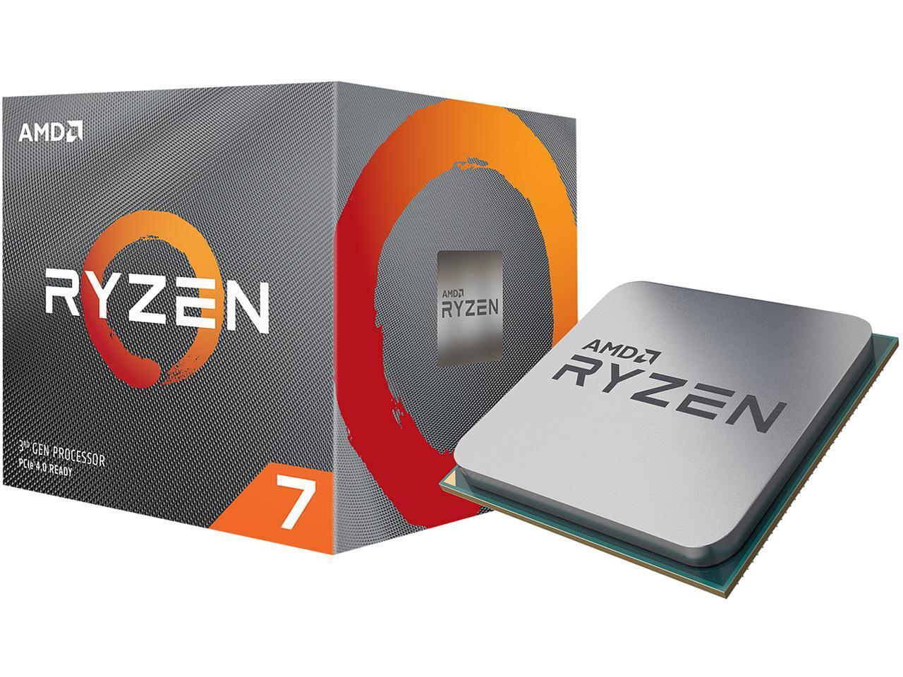 Amd Ryzen 7 3800x 8 Core 3 9 Ghz 4 5 Ghz Max Boost Socket Am4 105w 100 100000025box Desktop Processor Newegg Com