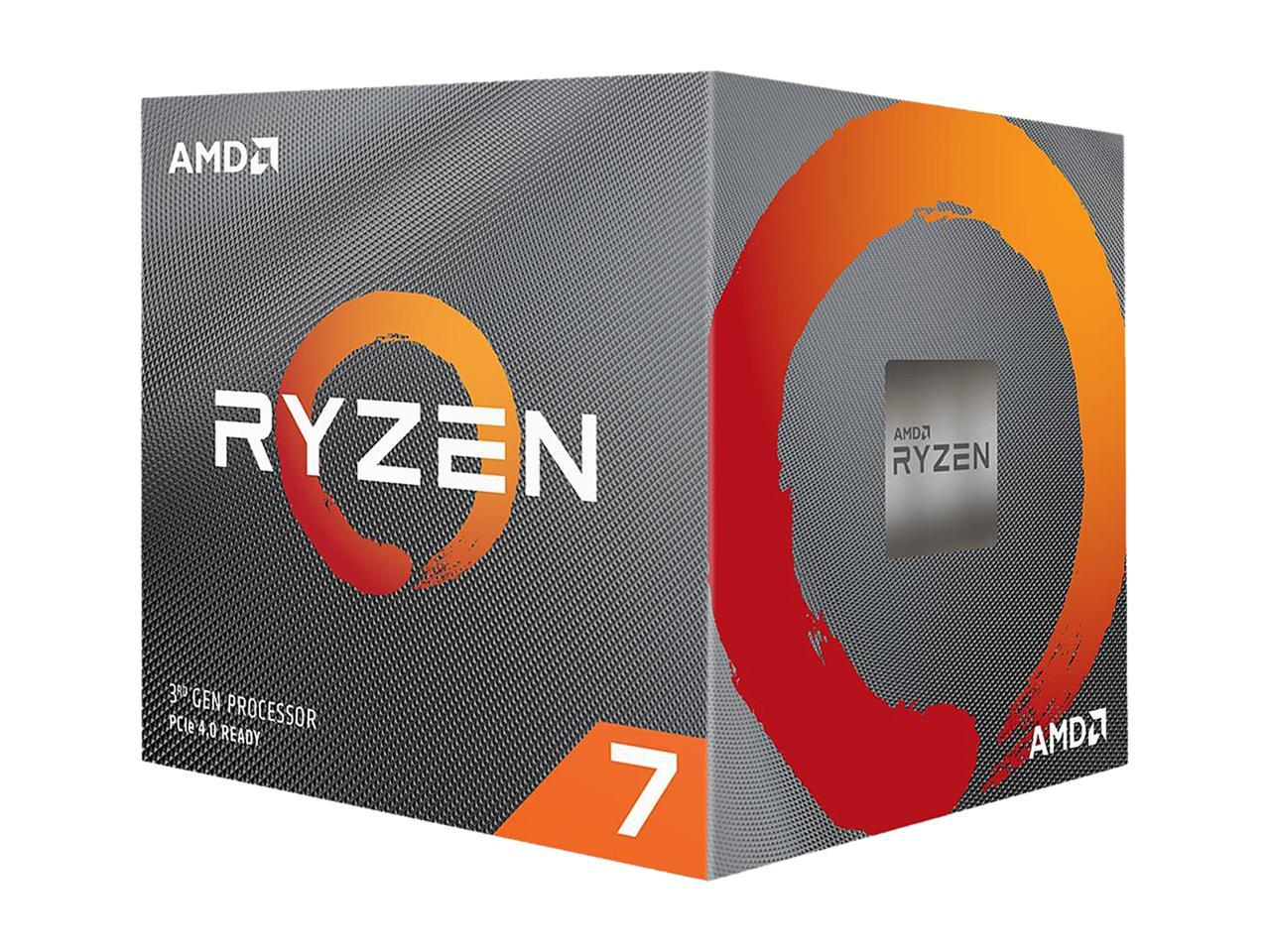 AMD Ryzen 7 3700X 8-Core 3.6GHz Socket AM4 Desktop Processor