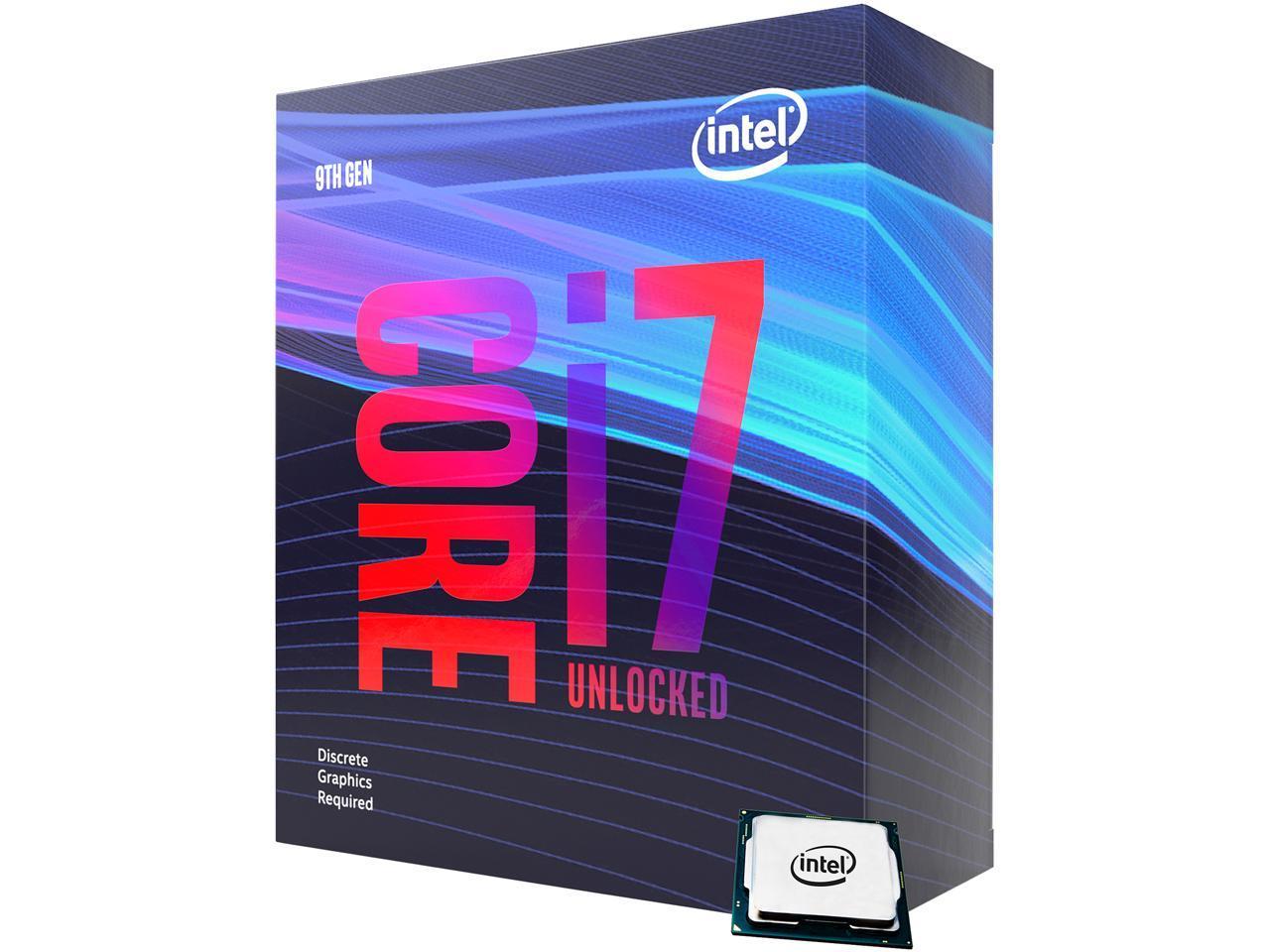 Intel Core I7 9700kf Coffee Lake 8 Core 3 6 Ghz 4 9 Ghz Turbo Lga 1151 300 Series 95w Bx80684i79700kf Desktop Processor Without Graphics Newegg Com