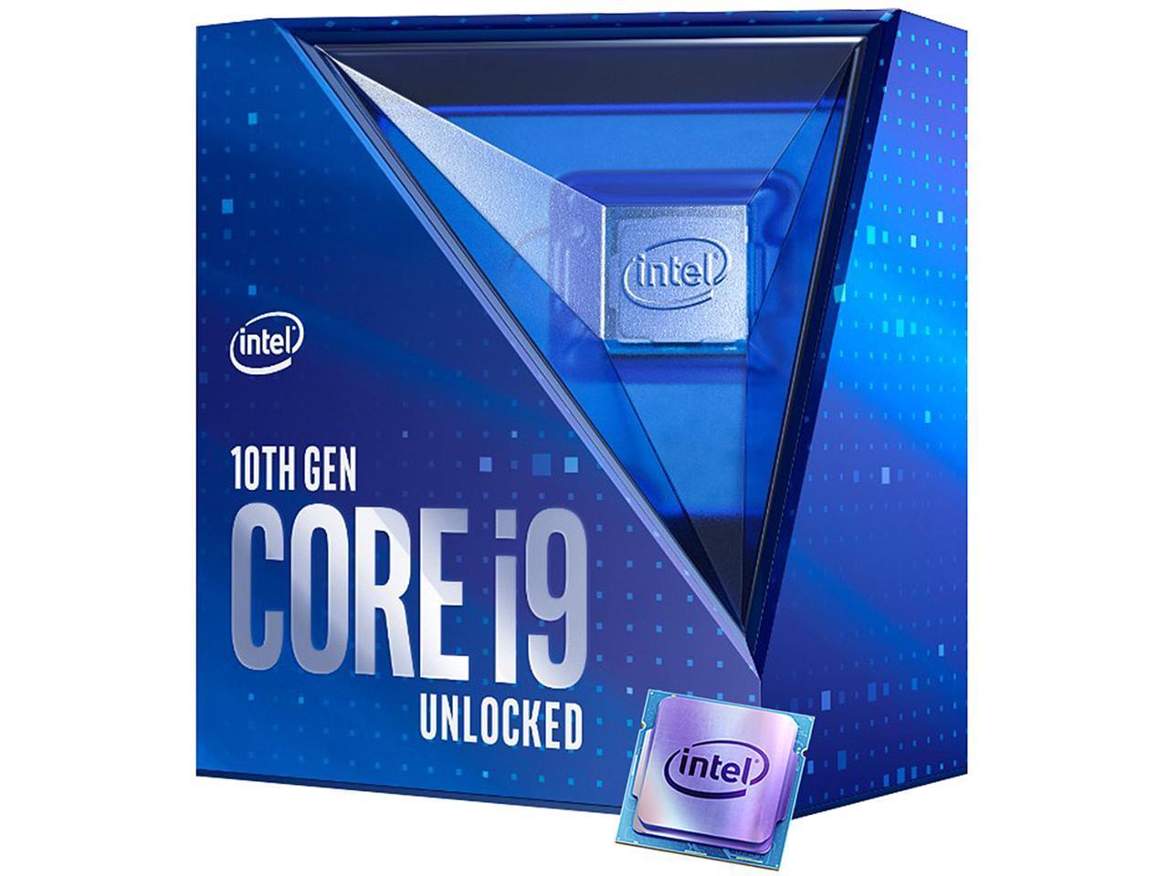 Intel Core i9-10900K 10-Core 3.7 GHz LGA 1200 125W BX8070110900K 10th Gen Comet Lake Desktop Processor Intel UHD Graphics 630