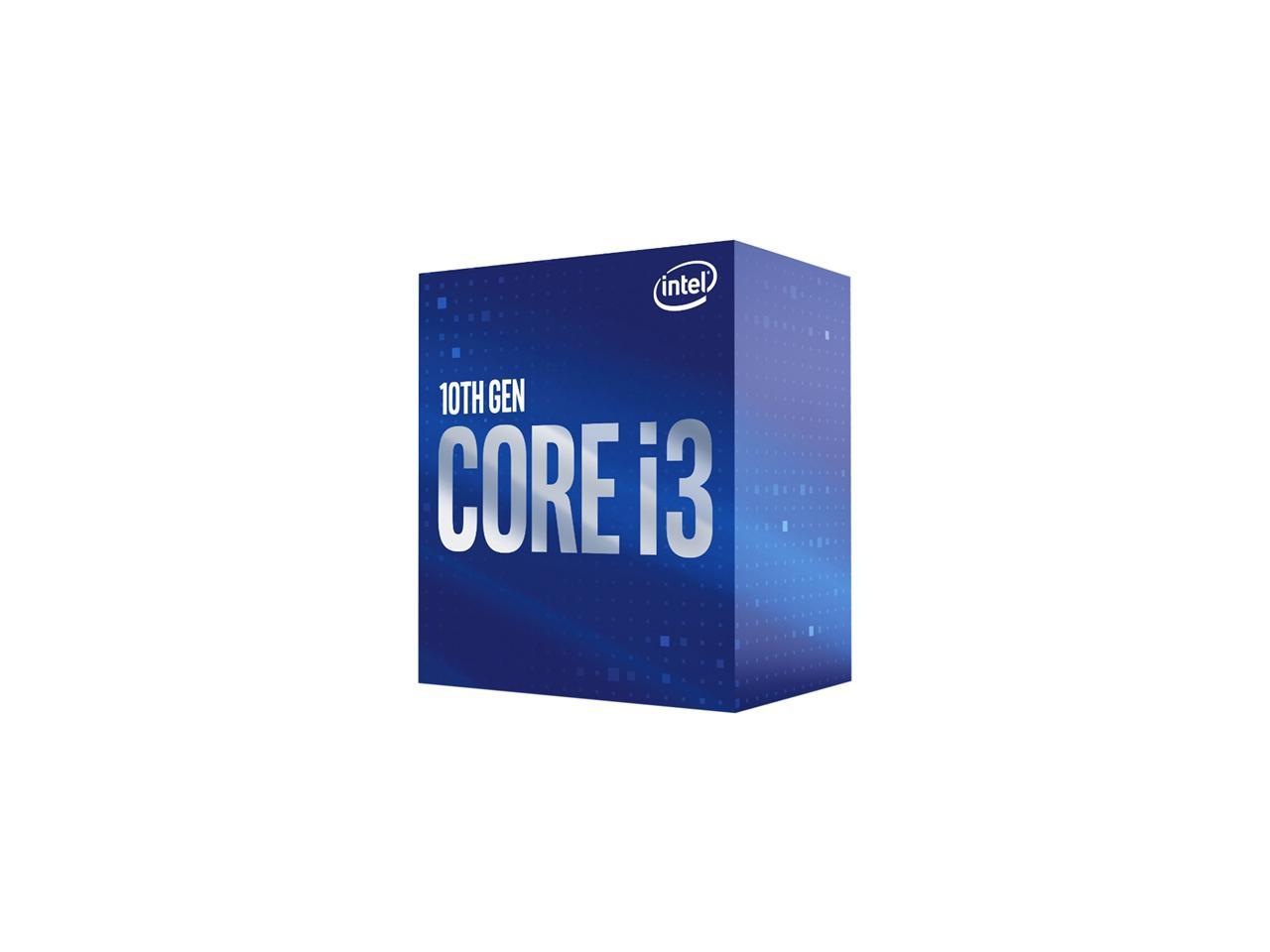 Intel 400 Series chipset 65W Intel Core i3-10300 Desktop Processor 4 Cores up to 4.4 GHz/  LGA1200
