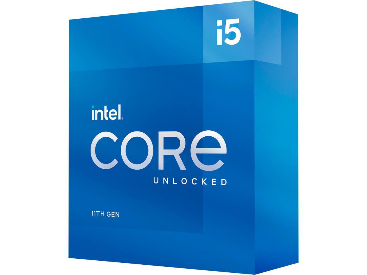 Intel Core i5-11600K Rocket Lake 6-Core 3.9 GHz LGA 1200 125W BX8070811600K Desktop Processor Intel UHD Graphics 750