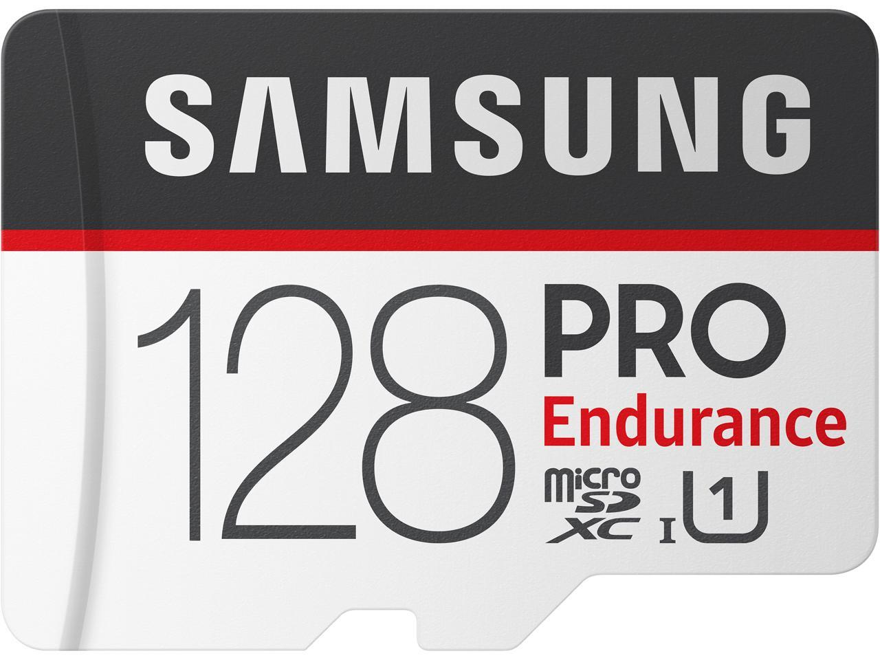 Samsung 128GB Pro Endurance microSDXC Memory Card with Adapter MB-MJ128GA/AM