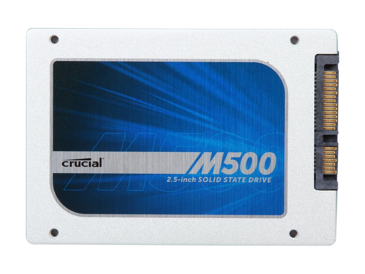 PC Parts Unlimited CT240M500SSD1 Crucial M500 Series 240GB MLC SATA 6Gbps 2.5-inch Internal Solid State Drive