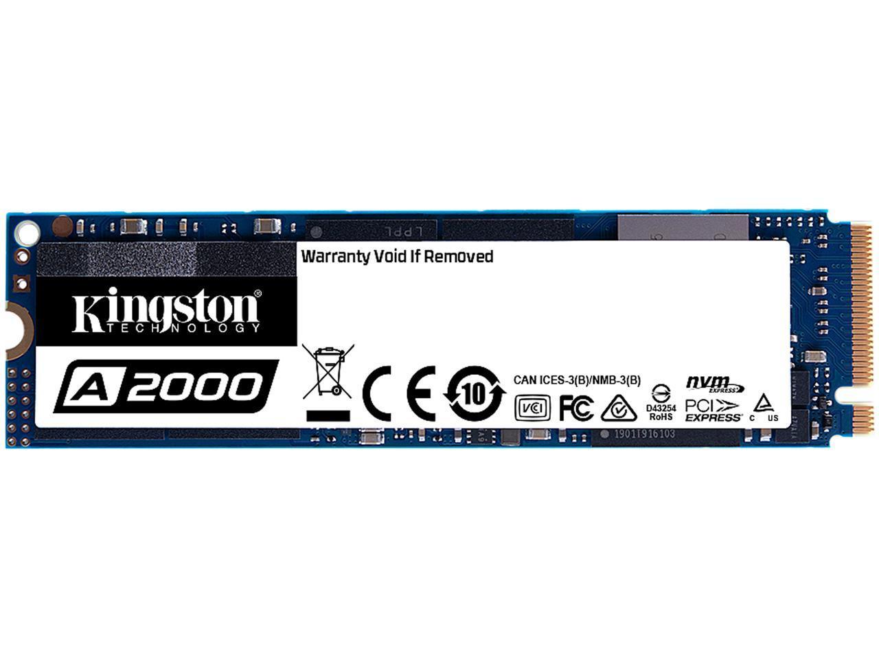 kingston 500gb a2000 m.2 2280 nvme
