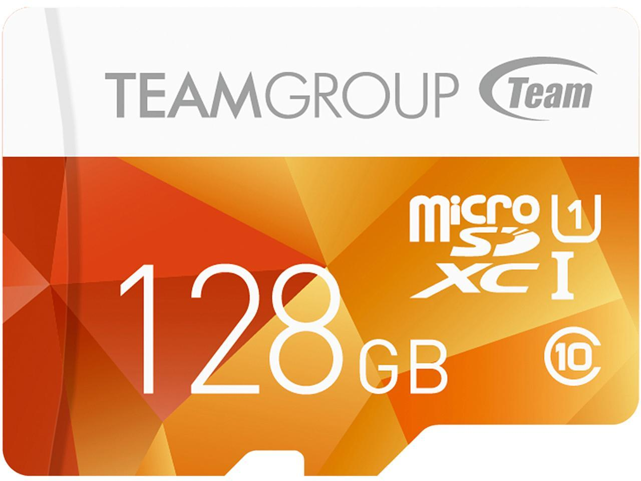 Team Group Color Card 128GB microSDXC Card