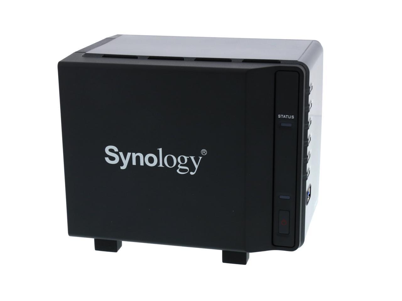 Open Box Synology 4 Bay Nas Diskstation Ds416slim Diskless Newegg Com