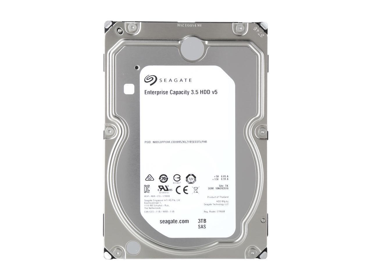 Seagate Enterprise NAS ST6000VN0001 6TB 7200 RPM 128MB