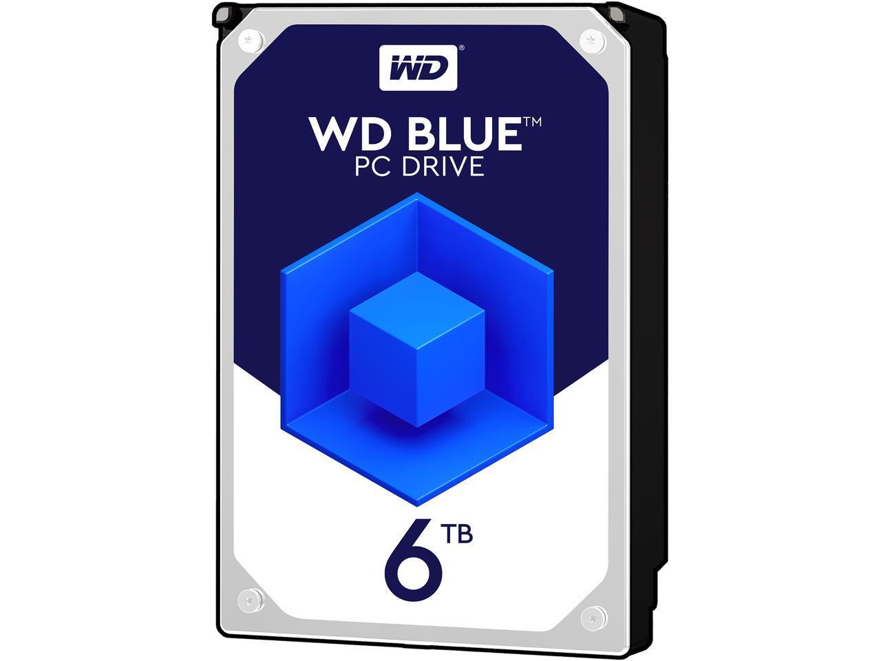 WD Blue 6TB Desktop Hard Disk Drive - 5400 RPM SATA 6Gb