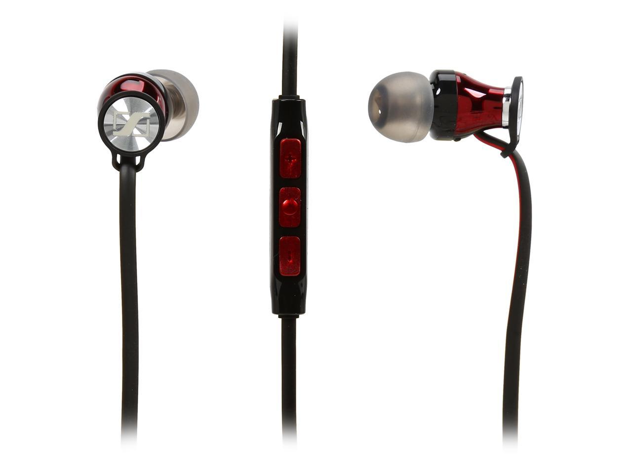 Sennheiser M2IEI Momentum In-Ear Headphones for iOS Devices (Black/Red)