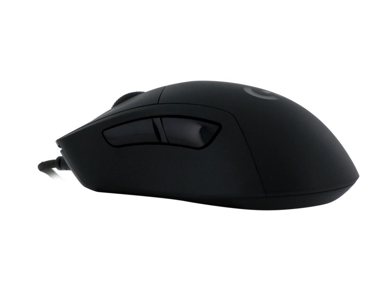 16000 dpi Rat/ón para Gaming Ligero 87 g Cable Trenzado Version para Europa Occidental RGB LIGHTSYNC Logitech G403 Hero 16K 10 g Opcionales Laterales Recubiertos de Goma ES