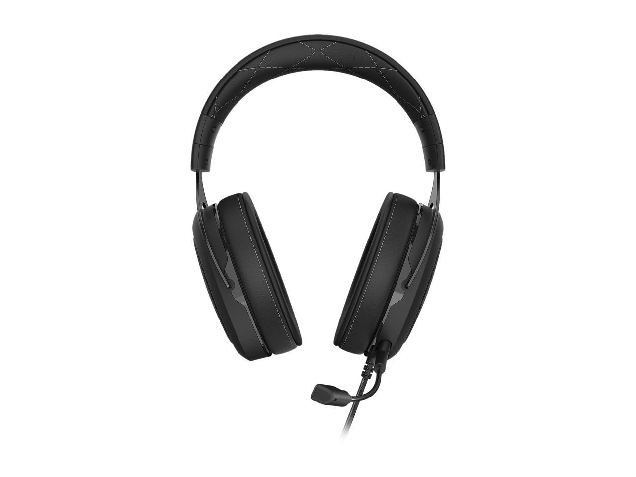 CORSAIR HS60 Pro 3.5mm/USB Connector Circumaural 7.1 Surround Sound Gaming Headset - Carbon