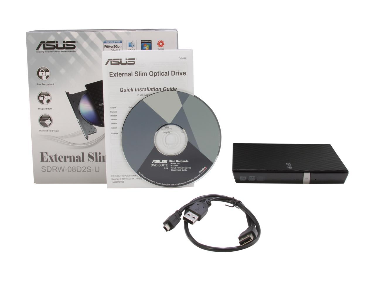 USB 2.0 External CD//DVD Drive for Asus f8v