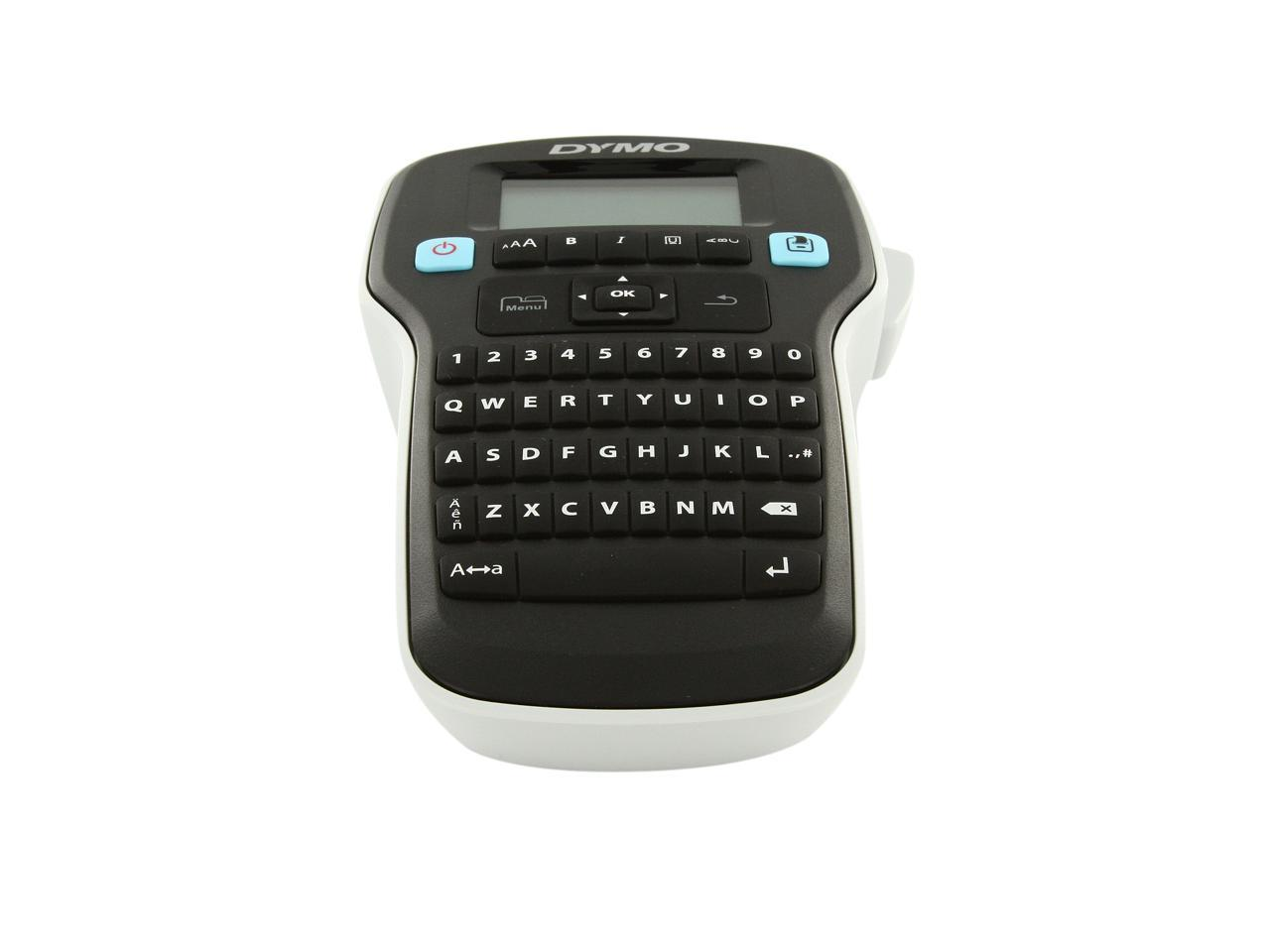 LabelManager 160 Portable Label Maker QWERTY Keyboard for Home /& Office Organization Easy-to-Use Renewed Large Display One-Touch Smart Keys DYMO Label Maker