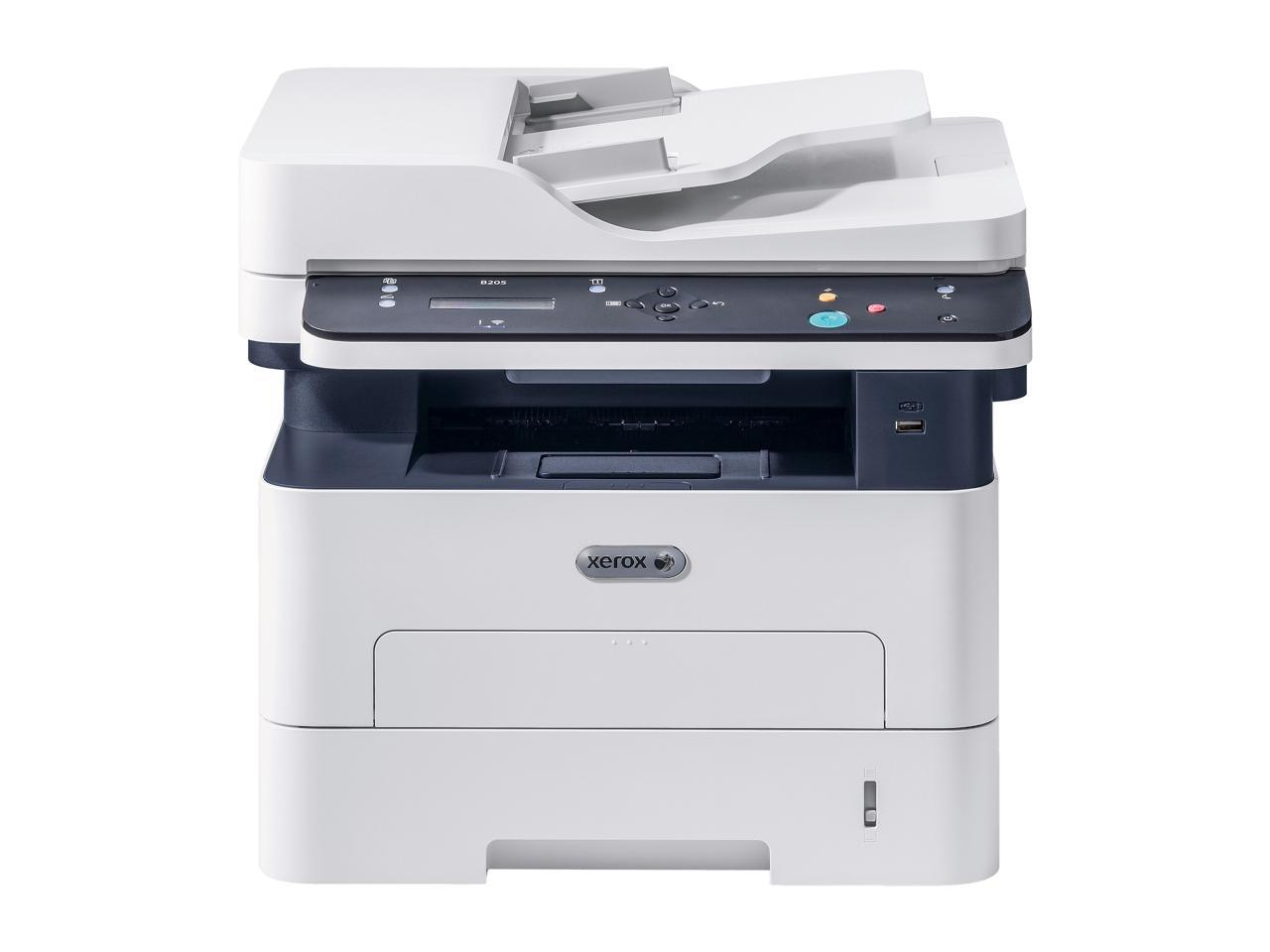 Xerox B205/NI Multifunction USB/Ethernet and Wireless Printer