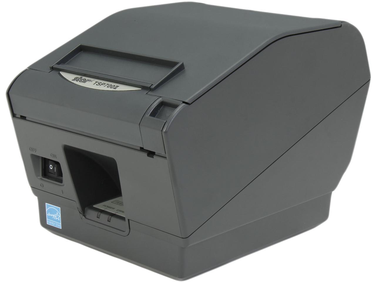 Star TSP700II 743II Thermal POS Receipt Printer Serial w Power Supply