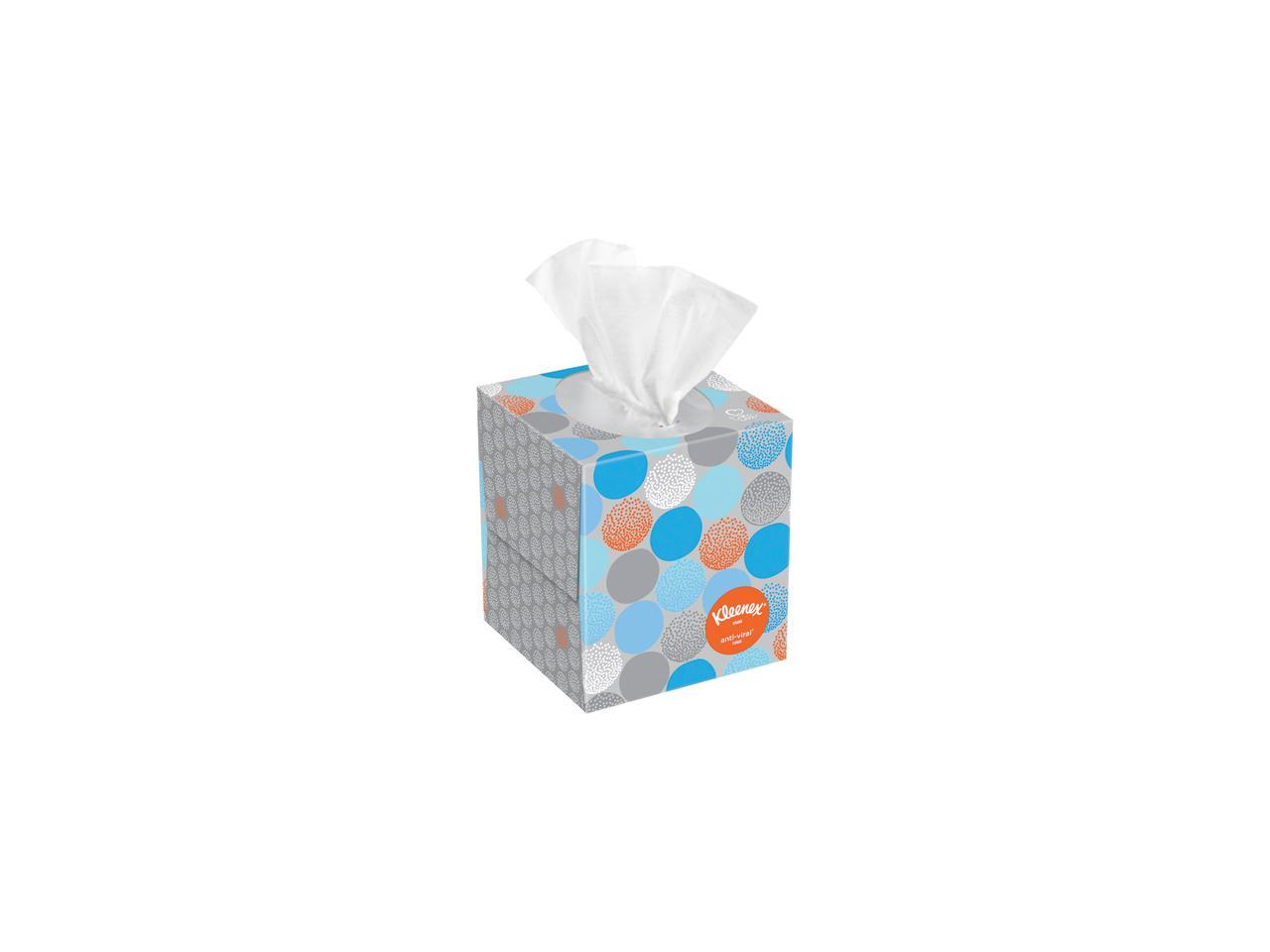 03076 Flat Tissue Boxes 12 B Kleenex Professional Facial Tissue for Business