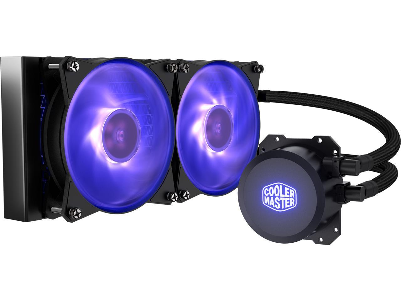 Cooler Master MasterLiquid ML240L RGB Close-Loop CPU Liquid Cooler MLW-D24M-A20PC-R1
