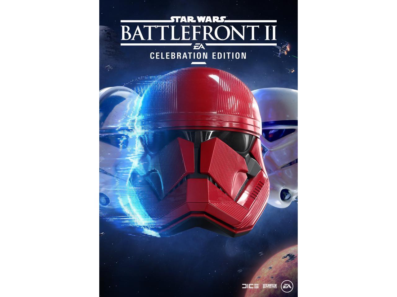 Star Wars Battlefront Ii Celebration Edition Pc Digital Origin Newegg Com