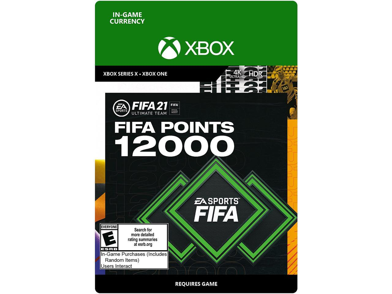 Xbox One FIFA 19 Ultimate Team Download Code 1050 FIFA Points