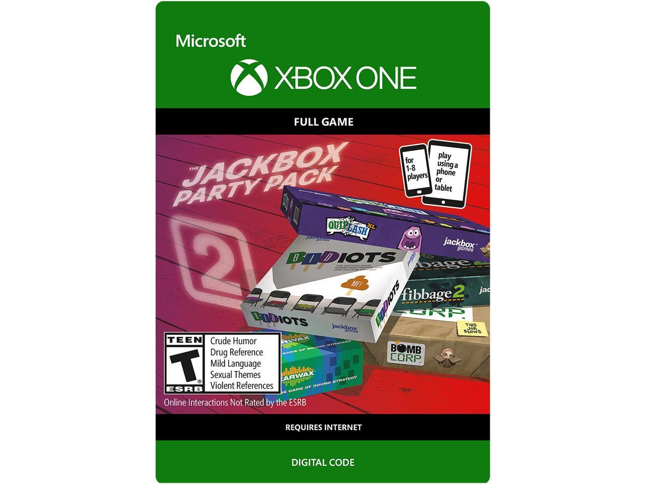 The Jackbox Party Pack 2 Xbox One [Digital Code] - Newegg.com