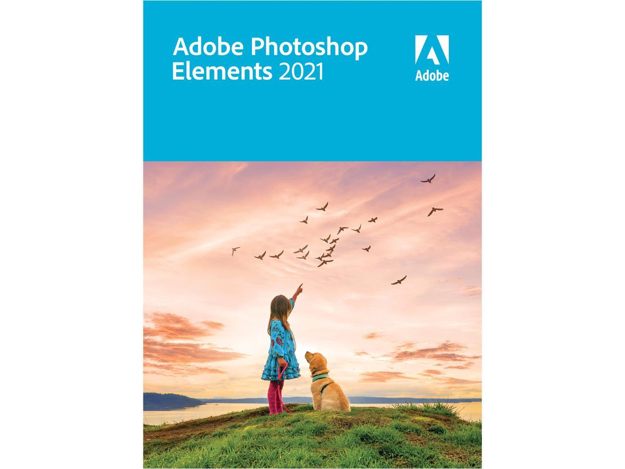 Adobe Photoshop Elements 2021 - Windows & Mac
