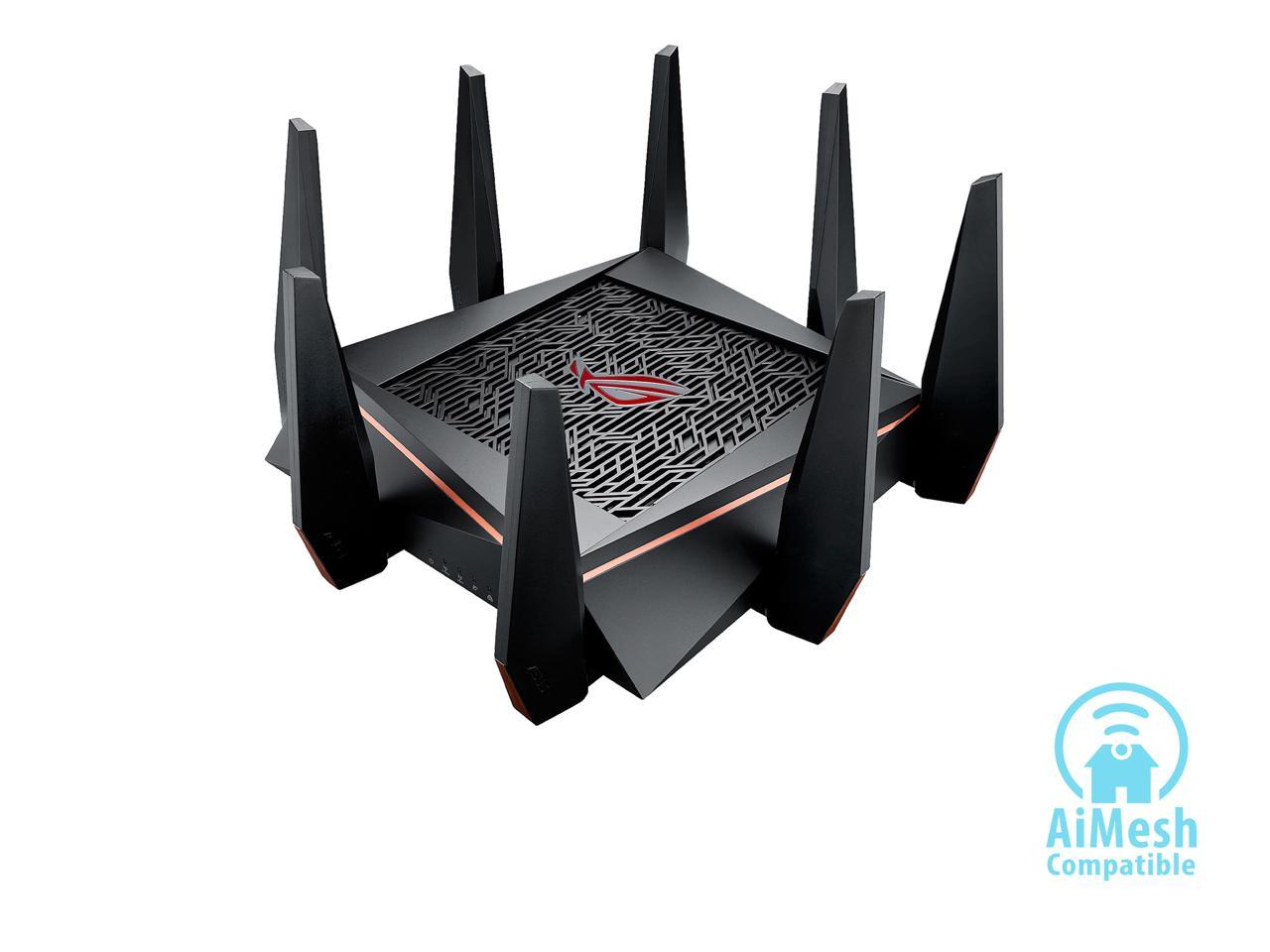 ASUS ROG Rapture GT-AC5300 AC5300 Tri-band Gigabit Wi-Fi Gaming Router
