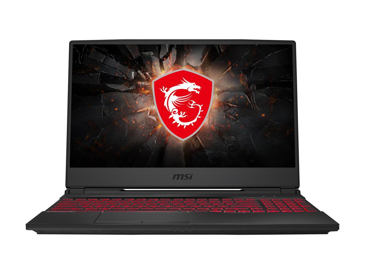 "MSI GL65 Leopard 15.6"" Gaming Laptop Intel Core i7-10750H GeForce GTX 1650 Ti 8GB DDR4 RAM 512 GB SSD, 10SCSR-070"