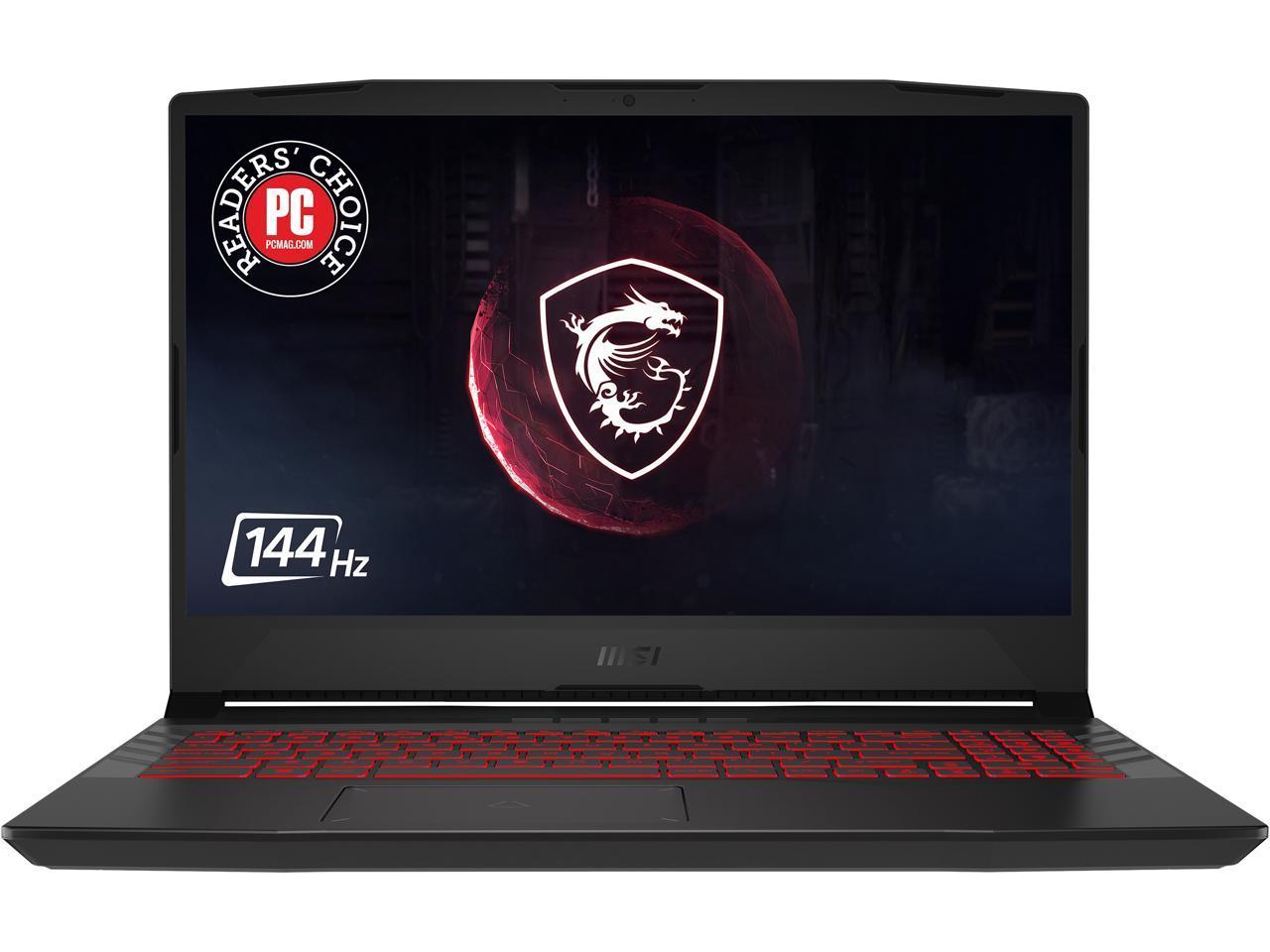 MSI (Pulse GL66 11UEK-034 ) 15.6″ 144 Hz Gaming Laptop, 11th Gen Core i7 8-Core, 16GB RAM, 1TB HDD + 512GB SSD