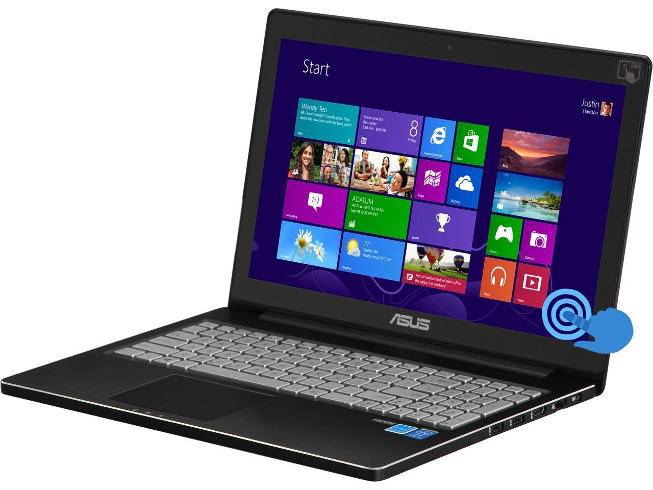 Refurbished Asus Laptop Q501la Bbi5t03 Intel Core I5 4th Gen 4200u 1 60 Ghz 6 Gb Memory 750 Gb Hdd Intel Hd Graphics 4400 15 6 Touchscreen Windows 8 64 Bit Newegg Com