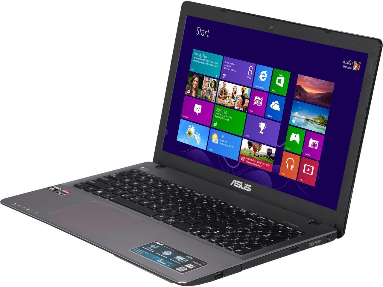 Asus Laptop R510dp Wh11 Amd A10 Series A10 5750m 2 50 Ghz 8 Gb Memory 1 Tb Hdd Amd Radeon Hd 8670m 15 6 Windows 8 1 64 Bit Newegg Com
