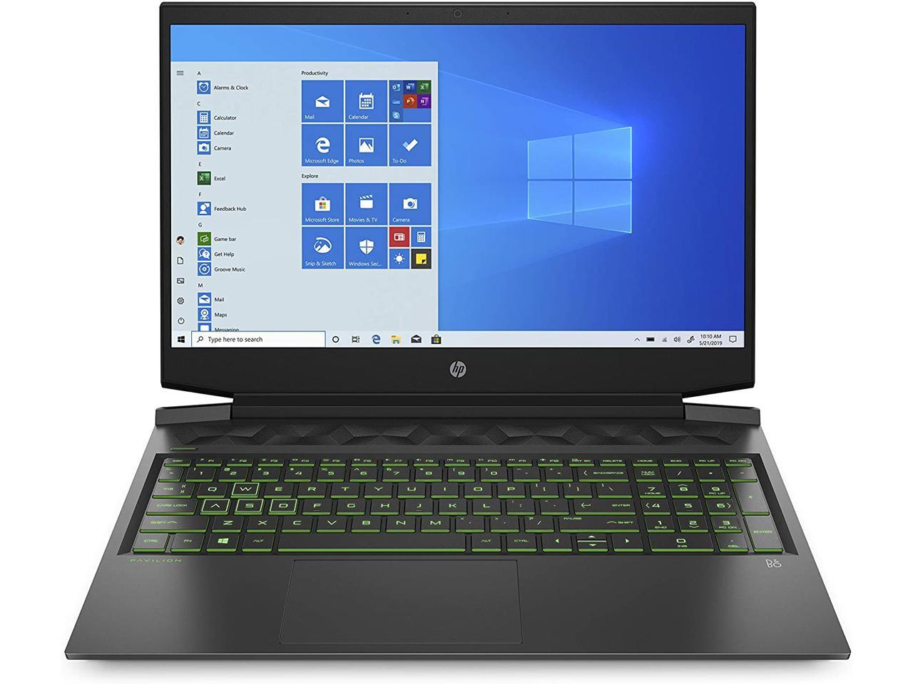 Hp Pavilion 16 1 Intel Core I5 10300h Geforce Gtx 1650 Ti 8 Gb Memory 512 Gb Ssd Windows 10 Home Gaming Laptop 16 A0020nr Newegg Com