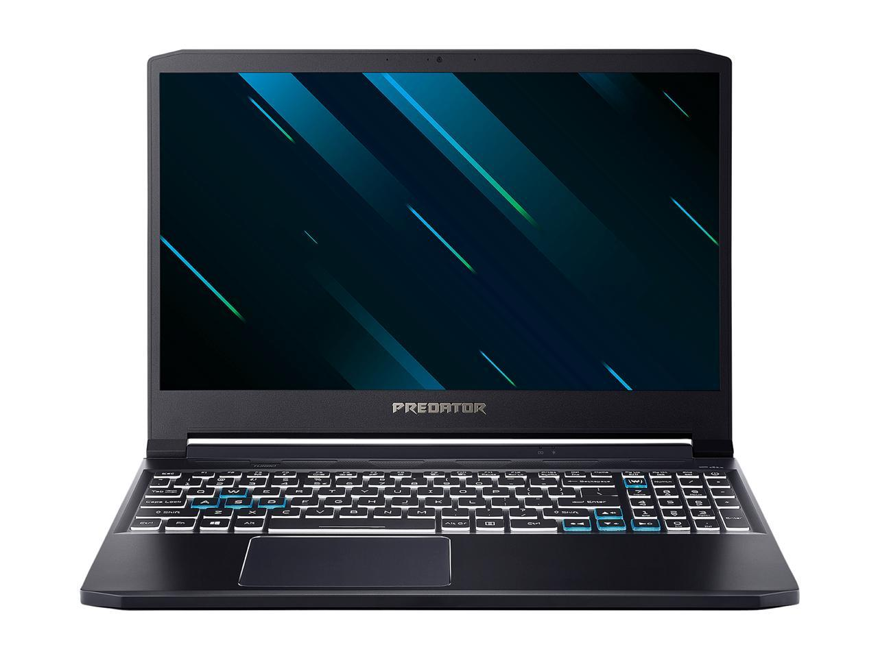 "Acer Predator Triton 300 15.6"" Intel Core i7-10750H GeForce RTX 2070 Max-Q 16GB DDR4 RAM 512GB PCIe SSD Gaming Laptop, PT315-52-73WT"