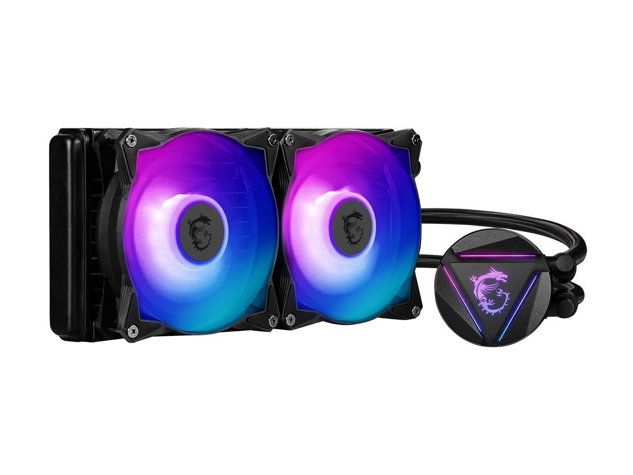 MSI MAG CORELIQUID 240R AIO RGB Liquid CPU Cooler