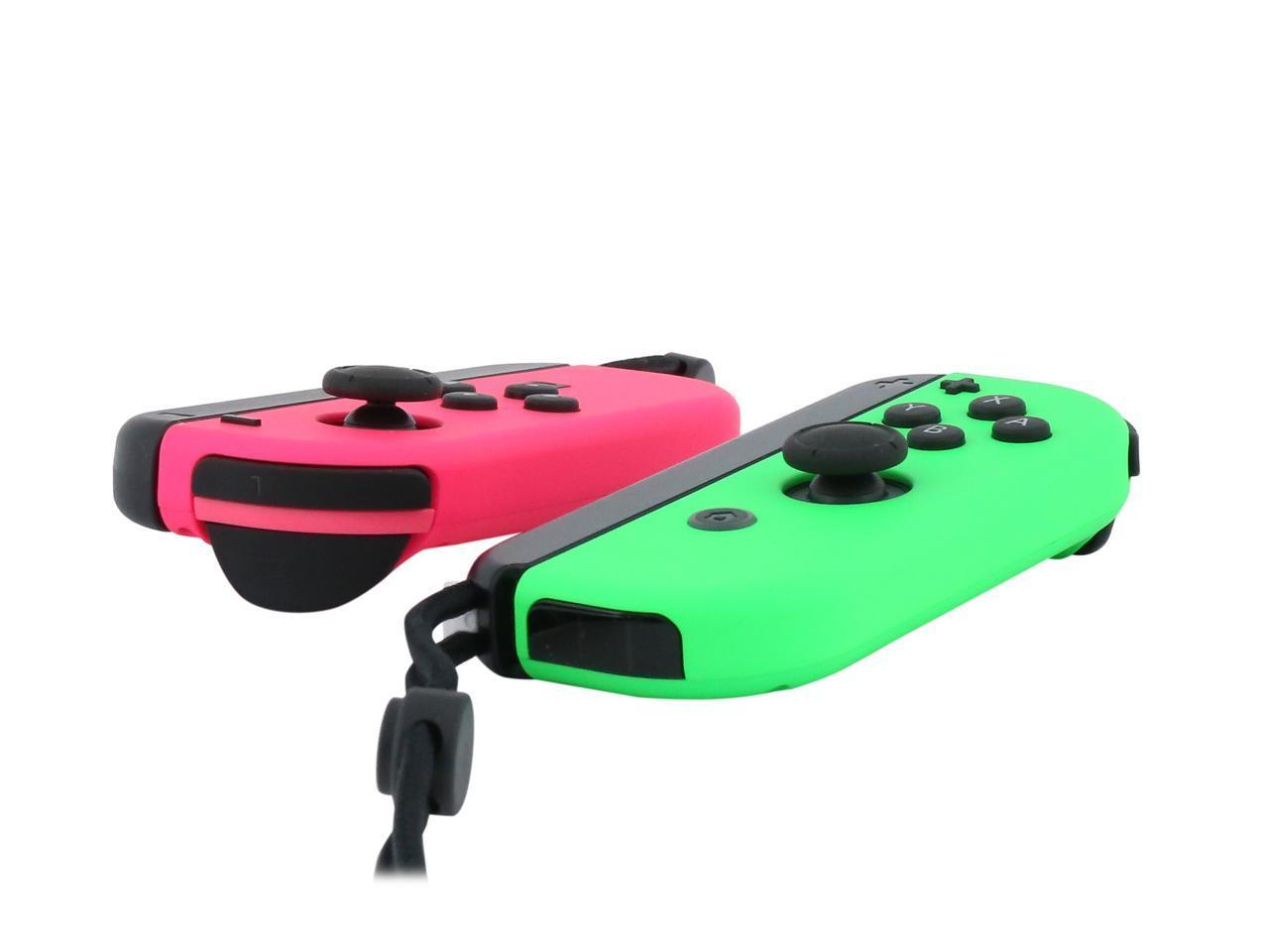Nintendo Joy-Con (L/R) - Neon Pink / Neon Green - Newegg.com