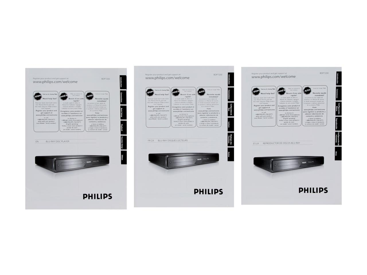 Philips Blu-ray Disc Player BDP7200//37